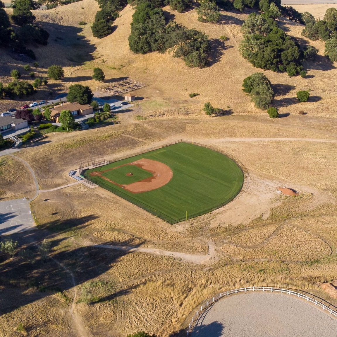 New Baseball Field for St. Vincent's Scholl for Boys