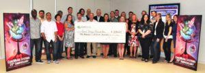 CoreMedia Team with Good Tidings Donation Check 20th Anniversary